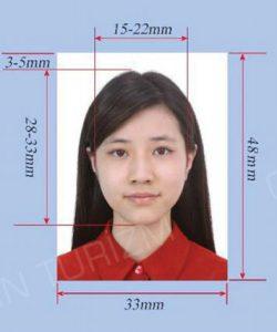 çin vize fotoğraf ölçüsü